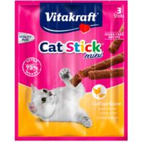 Vitakraft Sticks Kümes Hayvanlı ve Ciğerli Kedi Ödülü 3 Adet 54 gr