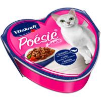 Vitakraft Poésie® Somon ve Makarna & Domates soslu 85 gr