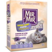 Mır Mır Bentonit Süper Topaklanan Kedi Kumu 5Lt (Lavanta Kokulu)