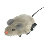 Catia Kurmalı Peluş Fare Kedi Oyuncak Gri 5,8 cm x 5,3 cm x 4,8 cm