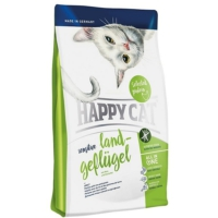 Happy Cat Grainfree Land-Geflugel Tahılsız Tavuklu Yetişkin Kedi Maması 4kg
