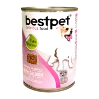 Best Pet Dog Somonlu Köpek Konservesi 415 gr