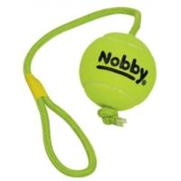 Nobby Büyük Irk ve Yavru Köpek Tenis Topu 10 cm Toplu 70 cm İpli