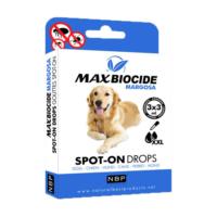 Max Biocide Margosa Büyük Köpekler İçin Dış Parazit Damlası Geraniol- 3x3 ml.