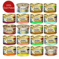 Gourmet Gold Kıyılmış Ton Balıklı 85 Gr 24 Adet