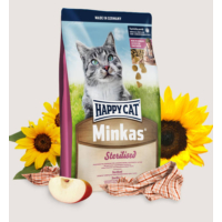 Happy Cat Minkas Sterilised Kısırlaştırılmış Kedi Maması 10 Kg