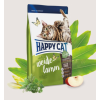 Happy Cat Weide Lamm Kuzu Etli Yetişkin Kedi Maması 1.4 Kg