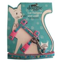Doggie Kitty Kedi Göğüs Tasması 22/36 cm Pembe