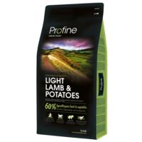 Profine Light Lamb Az Tahilli Hipoalerjenik Kuzu Etli&Patatesli Düşük Kalori Diyet Köpek Mamasi 15 Kg