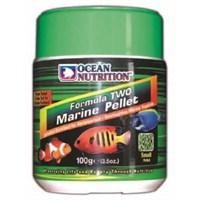 Ocean Nutrition Formula 2 Marine Pellet Med-100 Gr. Deniz Balıkları için Otçul Granül Yem