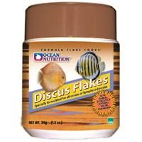Ocean Nutrition Discus Flake - 34 Gr. Discus Balıkları için Pul Yem