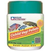 Ocean Nutritioncichlid Vegi Pellets Med - 200 Gr. 2 mm. Çiklit Balığı Yemi