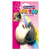 Vitakraft Büyük Fare Sesli Kedi Oyuncağı 2 Adet