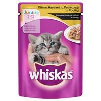 Whiskas Pouch Yavru Tavuklu yaş Kedi Maması 100 gr