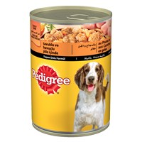 Pedigree Konserve Erişkin Tavuklu Konserve yaş Köpek Maması 400 gr