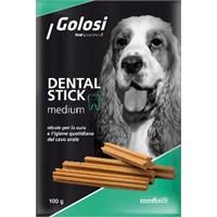 Golosi Dental Stick Medium Sığır ve Dana Etli Ödül Maması 140 Gr