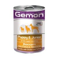 Gemon Yeni Konserve Yavru Köpek Tavuk Hindi 415 Gr