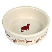 Trixie Kedi Porselen Mama/Su Kabı 0,25Lt/11Cm gk