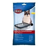 Trixie kedi kumu torbası L 46x59cm, 10 Adet ( Standart Tuvalet )