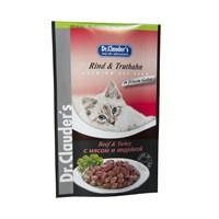 Dr. Clauder'S Kedi Biftek&Hindi Pouch 100 Gr. (Dr-11185)
