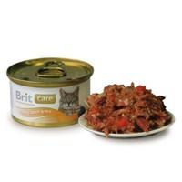 Brıt Care Tuna & Carrot Ton Balıklı Ve Havuçlu Kedi Konservesi 80 Gr