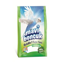 Mavi Boncuk Muhabbet Kuşu Yemi Kabuksuz 500 Gr