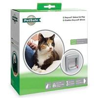 Petsafe Manuel Deluks 4 Yönlü Kedi Kapısı - Beyaz