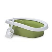 Stefanplast Silvester 10Lt Açık Kedi Tuvaleti Yeşil