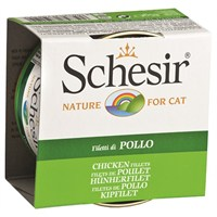 Schesir Cat Jelly Tavuk Fileto Kedi Konservesi 85 Gr