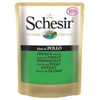 Schesir Cat 100 Gr.Pouch - Kıyılmıs Tavuk Etli