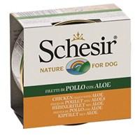 Schesir Dog Jelly 150 Gr.Can - Aloevera Ve Tavuklu Köpek Konservesi