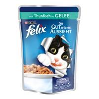 Felix Agail Ton Balıklı Kedi Pouch 100Gr