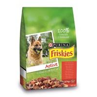 Friskies Etli Köpek Maması (Aktif Köpekler İçin) 10Kg