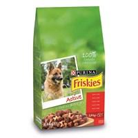 Friskies Etli Köpek Maması (Aktif Köpekler İçin) 2.4Kg