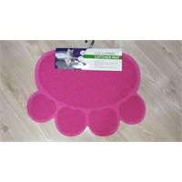 Lion 60X45cm Kedi Tuvalet Paspası Pembe
