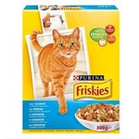 Friskies Somonlu Ve Sebzeli Yetişkin Kedi Maması 300Gr