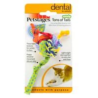 Petstages Tons Of Tails (Kedi Otlu, Tırmalama Ve Diş Kaşıyıcı, Catnipli Kedi Oyuncağı)