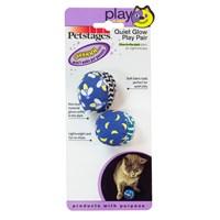 Petstages Quiet Glow Play Pair (İki Adet , Sessiz, Fosrforlu Kedi Oyuncağı)