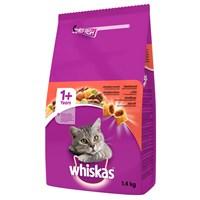 Whiskas Biftek&Havuç Kedi Maması 1,4 kg