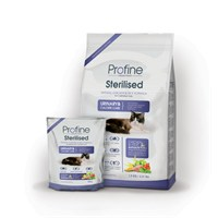 Profine Sterilised Doğal Tavuk Ve Pirinçli Kısırlaştırılmış Kuru Kedi Maması 15 Kg