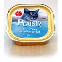 Plaisir Pate Tuna Etli Yaş Kedi Maması 100 Gr fd*
