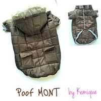Poof By Kemique Köpek Montu Kahverengi 2Xl
