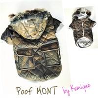 Poof By Kemique Köpek Montu Kamuflaj 2Xl