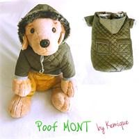 Poof By Kemique Köpek Montu Koyu Yeşil 2Xl