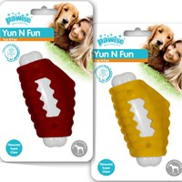 Pawise Yum N Fun Tavuk Aromalı Çiğneme Köpek Oyuncağı 11 Cm