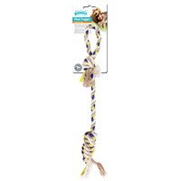 Pawise Floss Tugger Tutma Saplı İp Toplu Köpek Oyuncağı 48 Cm