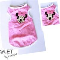 Pembe Minnie Mouse Atlet @Let By Kemique S