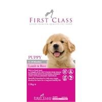 First Class Yavru Köpekler İçin Kuzulu Ve Pirinçli Köpek Maması 2 Kg