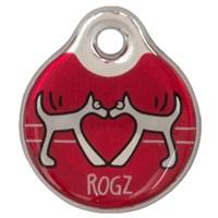 Rogz Id Tag Small Kırmızı Kalp