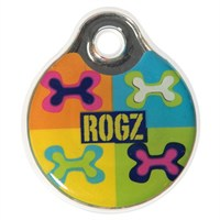 Rogz Id Tag Small Pop Art